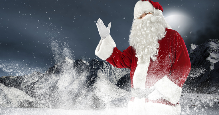 Meet Santa in Lapland