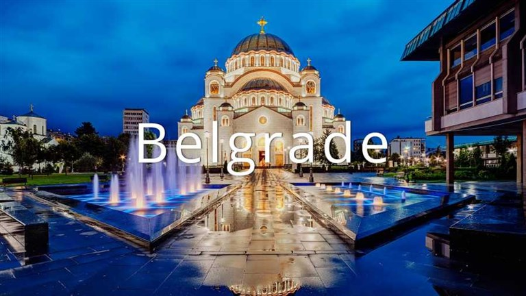 Easter in Belgrade (25 till 29 April)