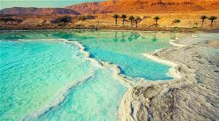 Easter in Dead Sea