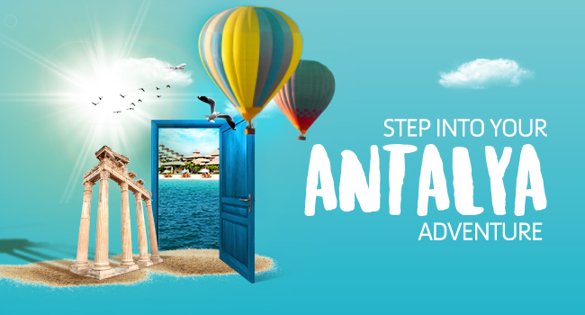 <p>ANTALYA 2019<br />Departure every Wednesday & Saturday<br />from 03 July till 10 September, 2019</p>
