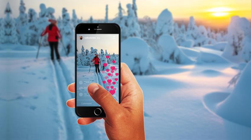 <p>Meet Santa in Lapland, Finland</p>