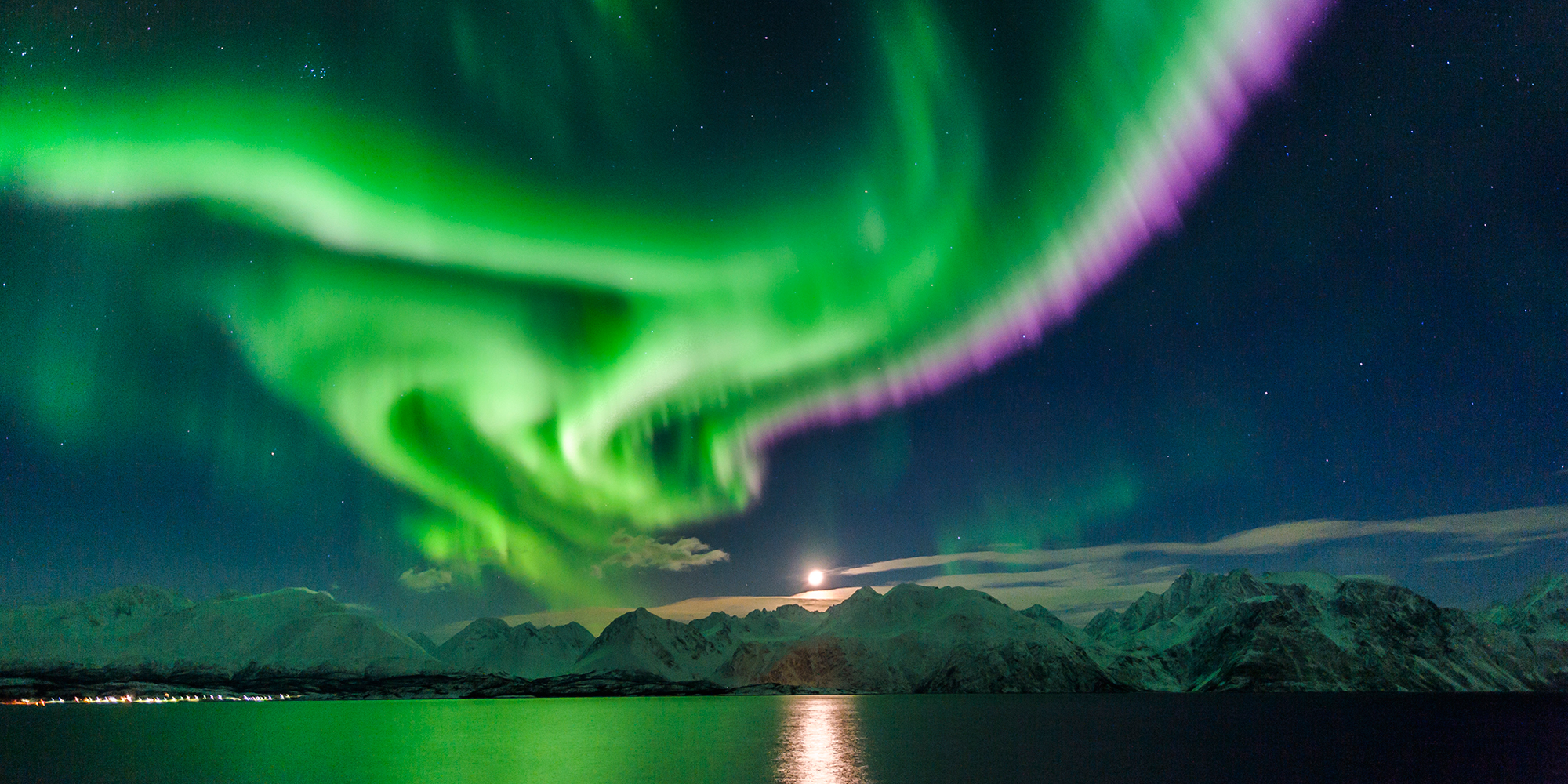 <p>The Northern Lights, Iceland </p>